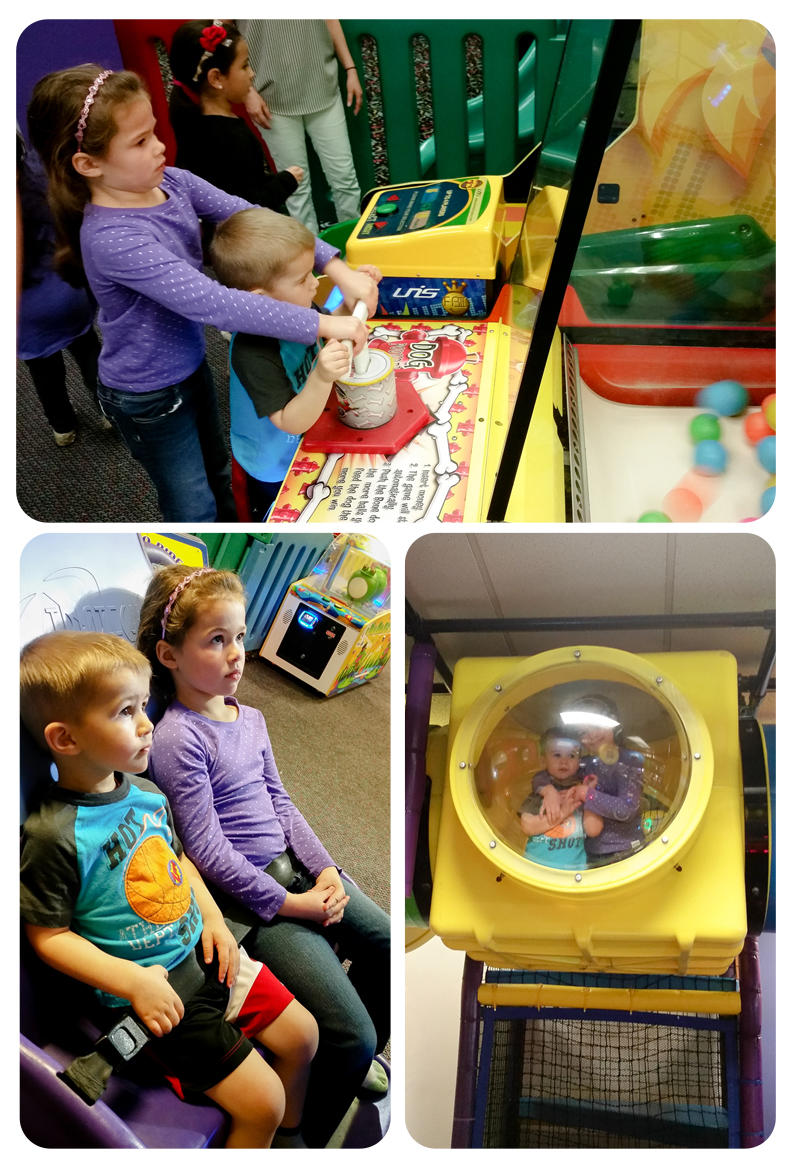 Chuck E Cheeses Birthday Party for Emma