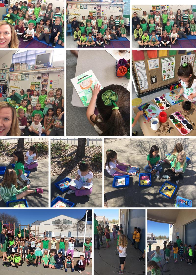 School on St Pattys Day 2017