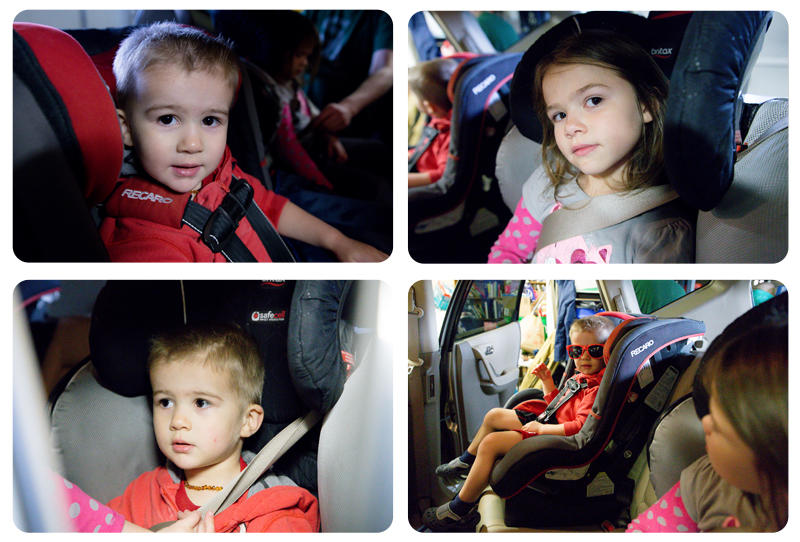 Switching up the Car Seats