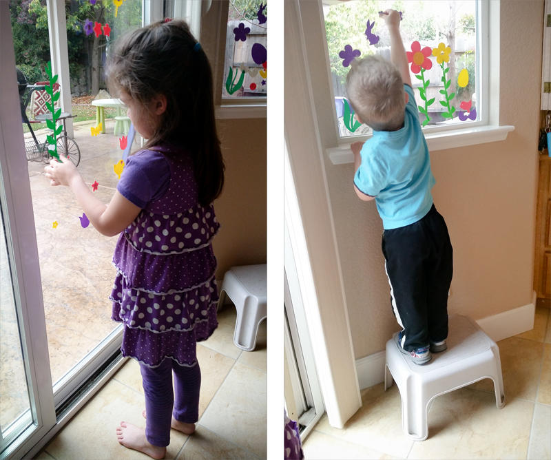 Easter Window Stickers
