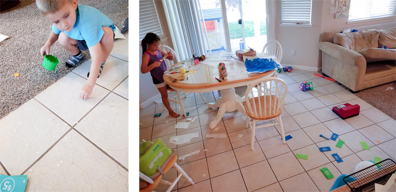 They Made a Mess