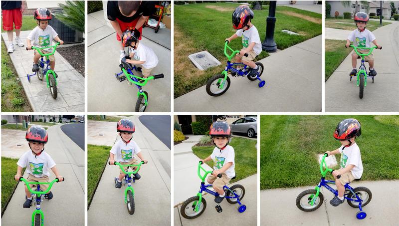 Luke's New Bike