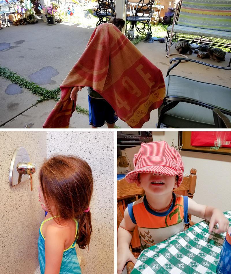 Random Pics from Grandma Kathy's House