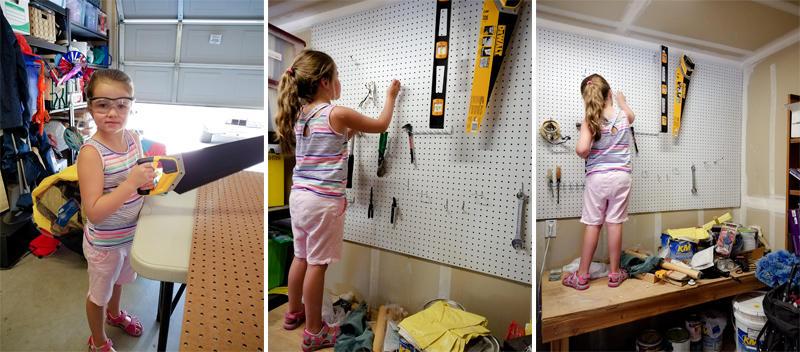 Helping Dad Organize the Garage