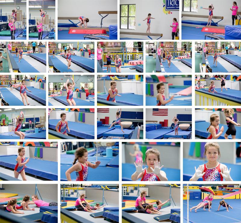 Abby Level A Gymnastics