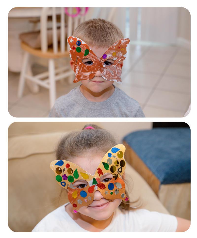 Summer Camp Super Hero Masks