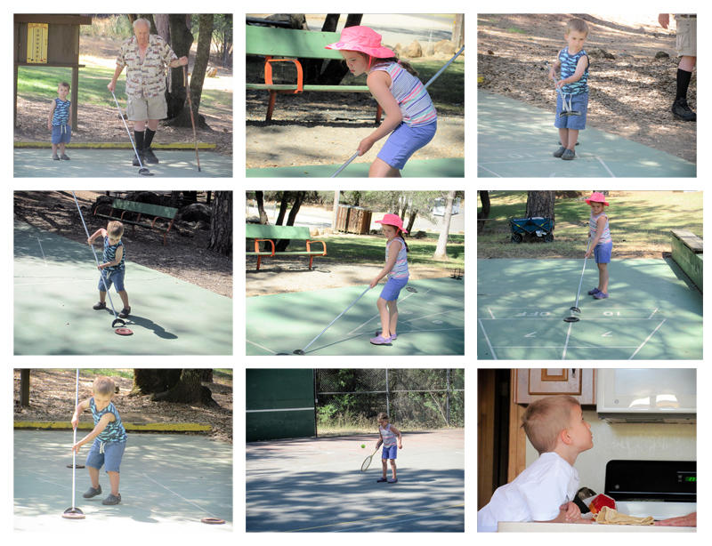 Shuffleboard and Campground Games