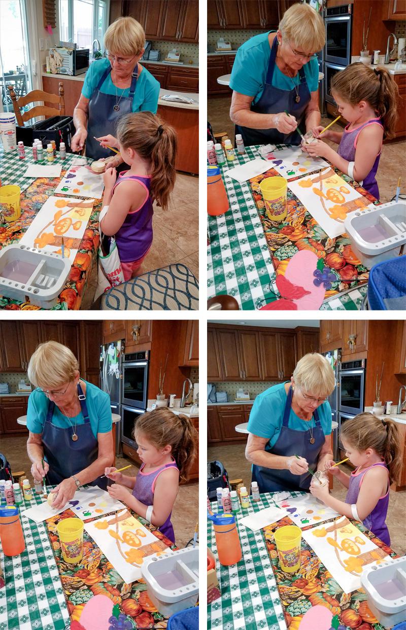 Getting Artsy with Grandma Kathy