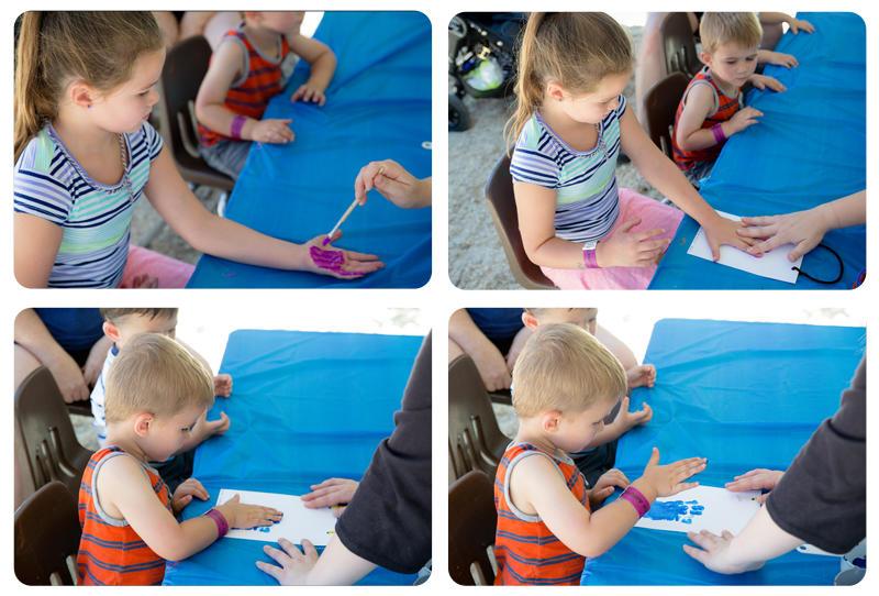 Annual Kids Corner Handprint