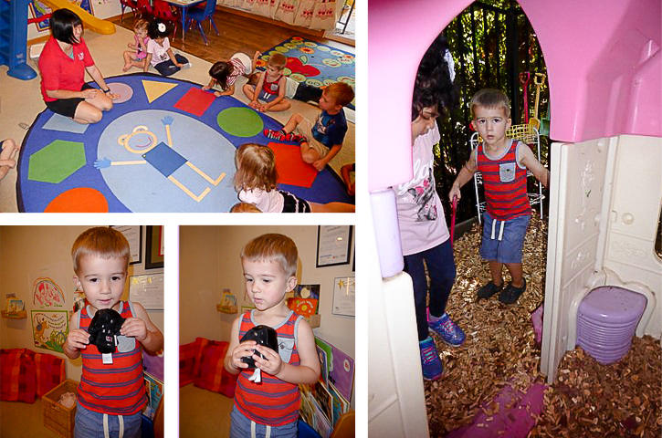 Show and Tell at Preschool