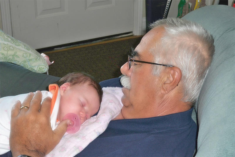 Napping with Grampie