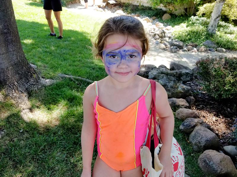 Summer Camp Facepaint