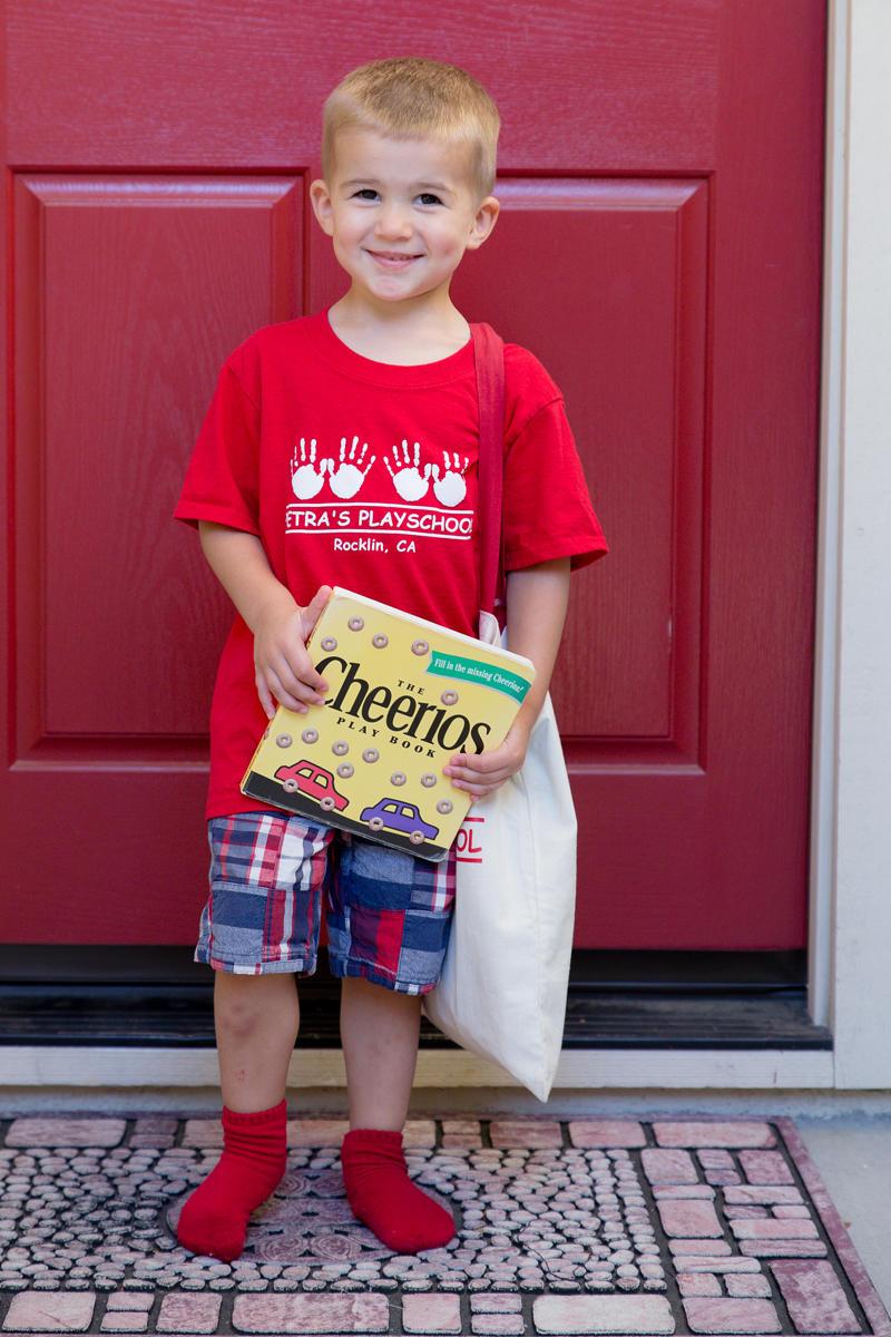 Luke's First School Spirit Day