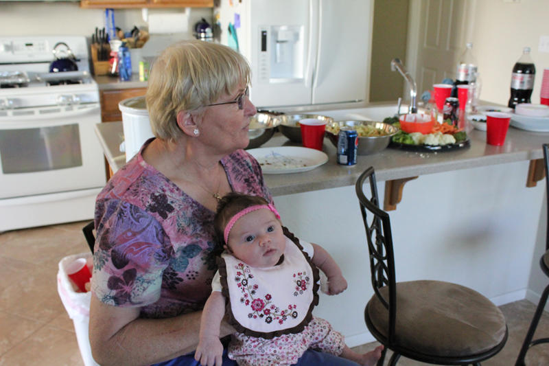 Abby and Grammie