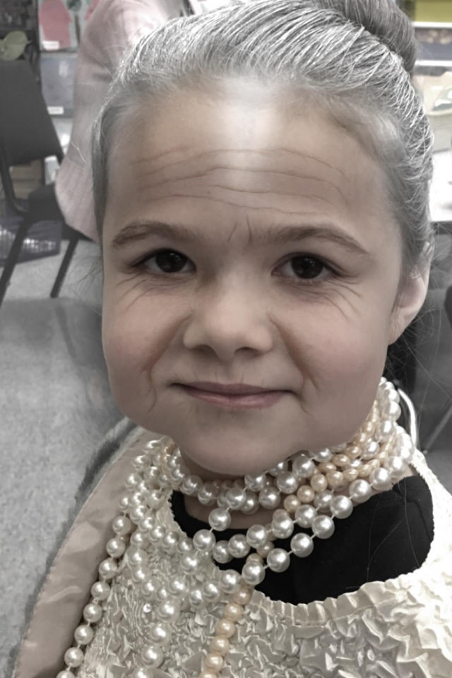 Projected Old Abby