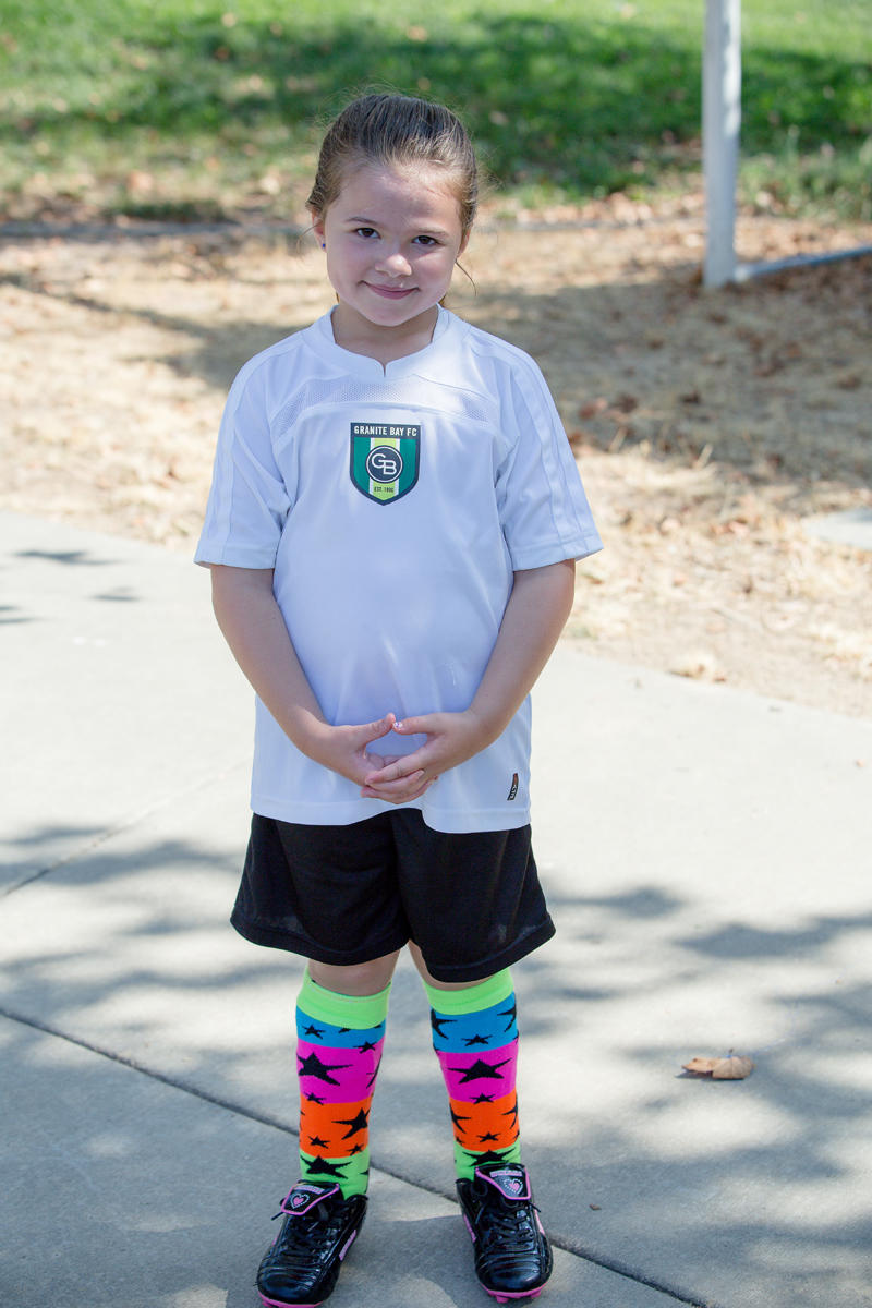 Abby's First Soccer Game 2017