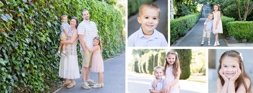 Spring 2017 Family Photo Session Collage